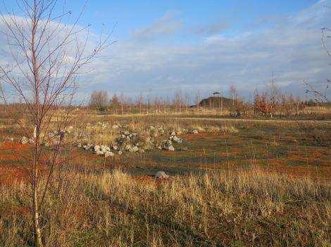 Plateau du belvédère Terril des argales, Rieulay (59, nord)