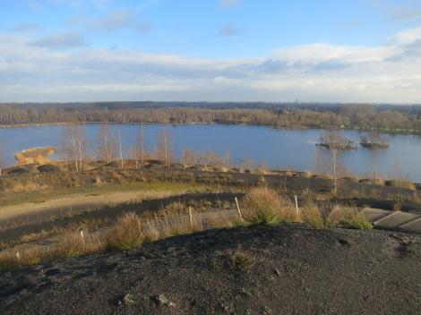 Panorama du belvédère Terril des argales, Rieulay (59, nord)